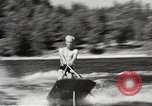 Image of Dog water skiing California United States USA, 1934, second 34 stock footage video 65675061011