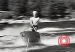 Image of Dog water skiing California United States USA, 1934, second 35 stock footage video 65675061011