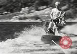 Image of Dog water skiing California United States USA, 1934, second 37 stock footage video 65675061011