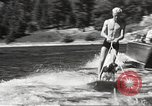 Image of Dog water skiing California United States USA, 1934, second 38 stock footage video 65675061011