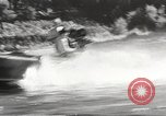 Image of Dog water skiing California United States USA, 1934, second 43 stock footage video 65675061011