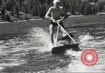 Image of Dog water skiing California United States USA, 1934, second 44 stock footage video 65675061011