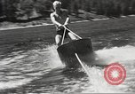 Image of Dog water skiing California United States USA, 1934, second 45 stock footage video 65675061011