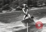 Image of Dog water skiing California United States USA, 1934, second 46 stock footage video 65675061011