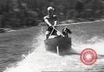 Image of Dog water skiing California United States USA, 1934, second 49 stock footage video 65675061011