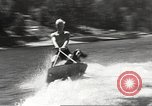 Image of Dog water skiing California United States USA, 1934, second 50 stock footage video 65675061011