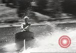 Image of Dog water skiing California United States USA, 1934, second 51 stock footage video 65675061011