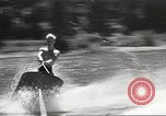 Image of Dog water skiing California United States USA, 1934, second 53 stock footage video 65675061011