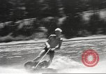 Image of Dog water skiing California United States USA, 1934, second 54 stock footage video 65675061011
