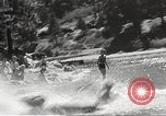 Image of Dog water skiing California United States USA, 1934, second 55 stock footage video 65675061011