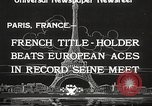 Image of swimmer Jean Taris Paris France, 1934, second 3 stock footage video 65675061014