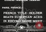 Image of swimmer Jean Taris Paris France, 1934, second 8 stock footage video 65675061014