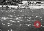Image of swimmer Jean Taris Paris France, 1934, second 27 stock footage video 65675061014