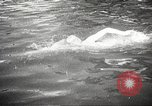 Image of swimmer Jean Taris Paris France, 1934, second 31 stock footage video 65675061014