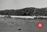 Image of swimmer Jean Taris Paris France, 1934, second 36 stock footage video 65675061014