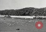 Image of swimmer Jean Taris Paris France, 1934, second 37 stock footage video 65675061014
