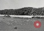 Image of swimmer Jean Taris Paris France, 1934, second 39 stock footage video 65675061014