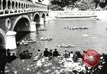 Image of swimmer Jean Taris Paris France, 1934, second 40 stock footage video 65675061014
