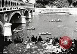 Image of swimmer Jean Taris Paris France, 1934, second 41 stock footage video 65675061014