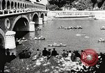 Image of swimmer Jean Taris Paris France, 1934, second 42 stock footage video 65675061014