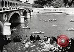 Image of swimmer Jean Taris Paris France, 1934, second 43 stock footage video 65675061014