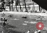 Image of swimmer Jean Taris Paris France, 1934, second 53 stock footage video 65675061014
