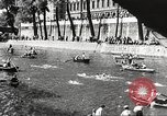 Image of swimmer Jean Taris Paris France, 1934, second 55 stock footage video 65675061014