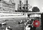 Image of swimmer Jean Taris Paris France, 1934, second 59 stock footage video 65675061014