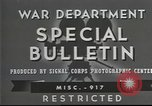 Image of American soldiers fire mortar in World War I United States USA, 1944, second 2 stock footage video 65675061086