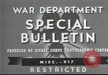 Image of American soldiers fire mortar in World War I United States USA, 1944, second 3 stock footage video 65675061086