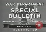 Image of American soldiers fire mortar in World War I United States USA, 1944, second 4 stock footage video 65675061086