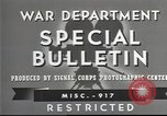 Image of American soldiers fire mortar in World War I United States USA, 1944, second 7 stock footage video 65675061086