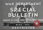 Image of American soldiers fire mortar in World War I United States USA, 1944, second 9 stock footage video 65675061086
