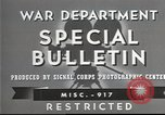 Image of American soldiers fire mortar in World War I United States USA, 1944, second 11 stock footage video 65675061086