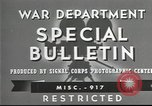 Image of American soldiers fire mortar in World War I United States USA, 1944, second 13 stock footage video 65675061086