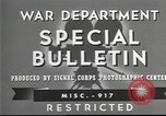 Image of American soldiers fire mortar in World War I United States USA, 1944, second 14 stock footage video 65675061086