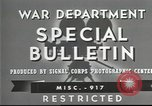 Image of American soldiers fire mortar in World War I United States USA, 1944, second 15 stock footage video 65675061086