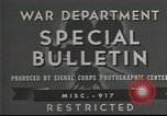 Image of American soldiers fire mortar in World War I United States USA, 1944, second 16 stock footage video 65675061086