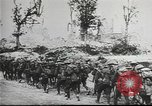 Image of American soldiers fire mortar in World War I United States USA, 1944, second 28 stock footage video 65675061086