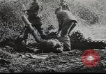 Image of American soldiers fire mortar in World War I United States USA, 1944, second 37 stock footage video 65675061086