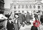 Image of Place de l'Opera during German occupation in World War II Paris France, 1942, second 23 stock footage video 65675061107