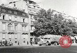Image of Place de l'Opera during German occupation in World War II Paris France, 1942, second 56 stock footage video 65675061107