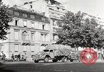 Image of Place de l'Opera during German occupation in World War II Paris France, 1942, second 57 stock footage video 65675061107