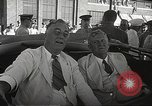 Image of Franklin D Roosevelt Hampton Virginia USA, 1940, second 24 stock footage video 65675061120