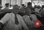Image of Franklin D Roosevelt Hampton Virginia USA, 1940, second 25 stock footage video 65675061120