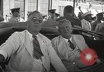 Image of Franklin D Roosevelt Hampton Virginia USA, 1940, second 36 stock footage video 65675061120