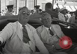 Image of Franklin D Roosevelt Hampton Virginia USA, 1940, second 37 stock footage video 65675061120