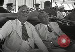 Image of Franklin D Roosevelt Hampton Virginia USA, 1940, second 38 stock footage video 65675061120
