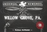 Image of autogyro rotorcraft Willow Grove Pennsylvania USA, 1940, second 1 stock footage video 65675061123