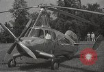 Image of autogyro rotorcraft Willow Grove Pennsylvania USA, 1940, second 6 stock footage video 65675061123